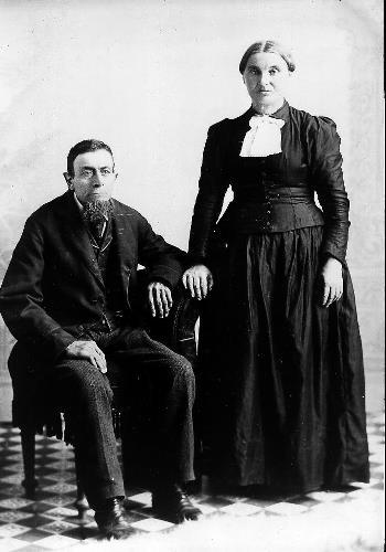 John Baptiste Sinnen and Elizabeth Sinnen - circa unknown