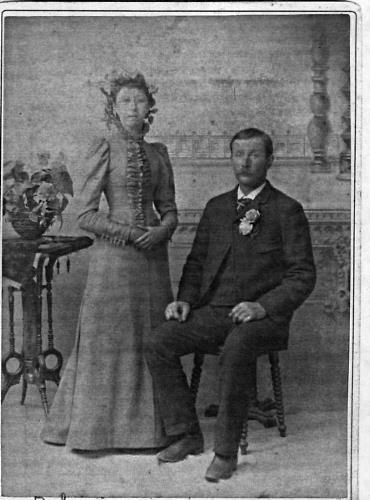 John L and Mary (Lenzen) Miller - circa unknown