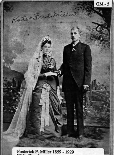 Frederick F. & Kate (Lenzen) Miller - circa unknown