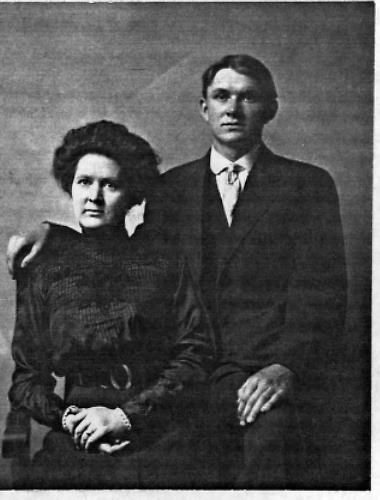 Walter Geiser with sister Rose Geiser - circa unknown