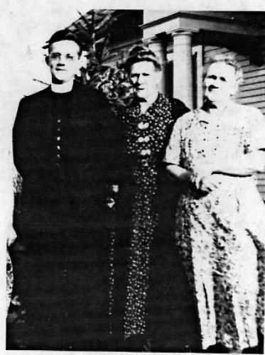 Rev. Philip Weller, Agnes (Driessen) Landsberger and Anna (Driessen) Weller