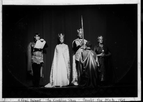 "1969 cast of ""Camelot"" at the Chanhassen Civic Theater."
