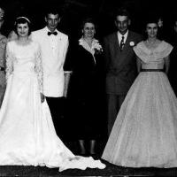 August & Ann Welter's daughter's wedding - August 21, 1951