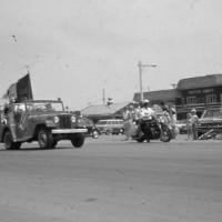 Frontier Days parade  on Main Street  1970