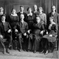 Dennis and Mary Kerber's family - 1920.