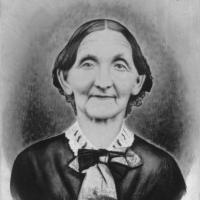 Margaret Wood, wife of Abel Wood. Photo courtesy of Carver County Historical Society.