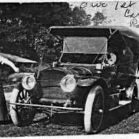 Rose (Geiser) Kelm with Rambler - 1908