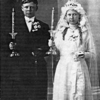 Elmer & Vernice Kelm's First Communion - 1912