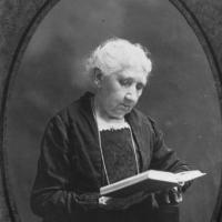 Ellen (Aspden) Maxwell, wife of James Maxwell - portrait courtesy of Carver County Historical Society.