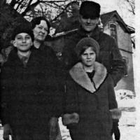 John and Rose Boegeman family 1932