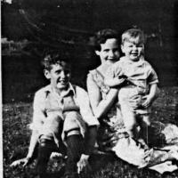 Doug, Mickey and Tom Kelm - 1931