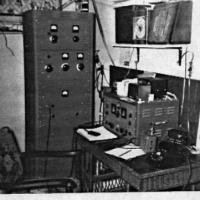 Elmer Kelm's Ham radio - circa unknown