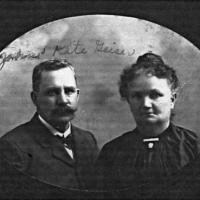 John C. & Kate (O'Reilly) Geiser - circa unknown