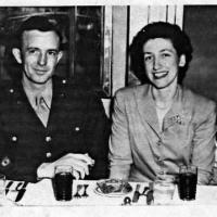 Victor M. and Betty (Davis) Weller's Honeymoon - 1944