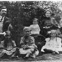 Fischer family - circa unknown, owner Mudcura Sanitarium