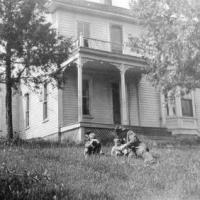 L.G. and Blanch (Sampson) Lawson homestead on Minnewashta Parkway.