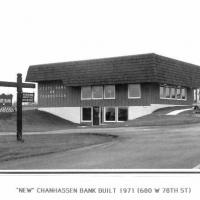Chanhassen Bank new building 1971 - Main Street