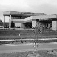 Chanhassen Bank new building 1986 - Main Street