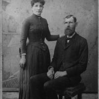 Henry and Magdalena (Vogel) Bushman - circa unknown