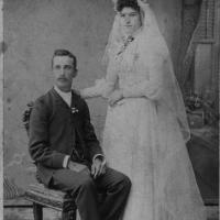 Mr. and Mrs. John Vogel - circa unknown