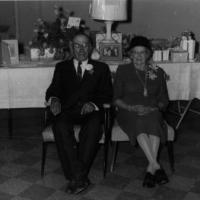 "Paul and Appolonia ""Franie"" (Heibel) Vogel's 50th Anniversary - November 14, 1961"