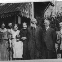 Heibel and Vogel family members - circa unknown