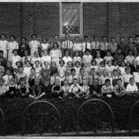 St. Hubert's School - Classmates from all eight grades of school year 1934-1935.