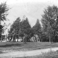 Alfalfadale Farm on Galpin Boulevard. Owned by Lyman's - circa 1930.