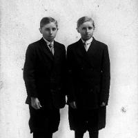 John and Frank Bose; twins born in January of 1902