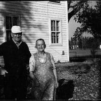 "John ""Jack"" and Elizabeth (Schlenk) Rettler's home on main street - fall of 1953."