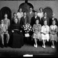 St. Hubert's 8th grad graduation - 1937